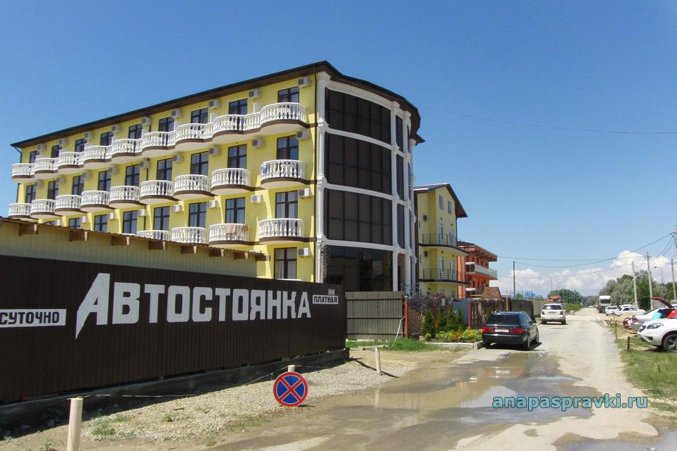 Улица Знойная в Витязево